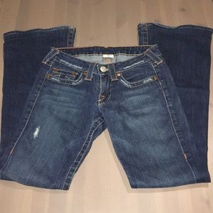True Religion sz 27 flared jeans